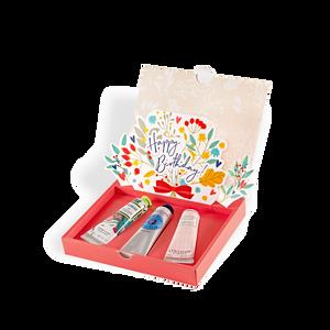 ロクシタン ハンドクリームギフトコレクション(Happy Birthday!)◆【数量限定】【WEB限定】, , JP